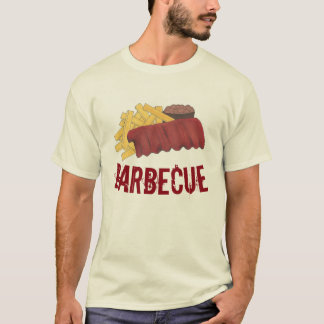 Kansas City Memphis BBQ Barbecue Spare Ribs Foodie T-Shirt