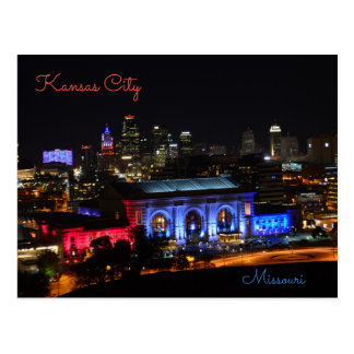 Kansas City, Missouri, Union Station Postcard