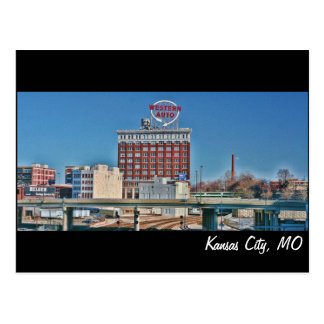 Kansas City, MO Western Auto building Postcard