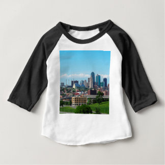 Kansas City Skyline Baby T-Shirt