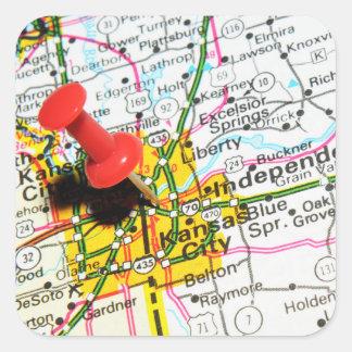 Kansas City Square Sticker