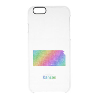 Kansas Clear iPhone 6/6S Case