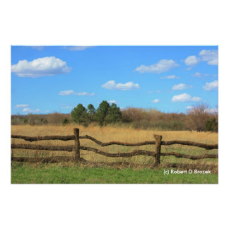 Kansas Country Painting Photo Enlargement