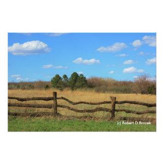 Kansas Country Painting Photo Enlargement