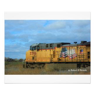 Kansas Country Train Photo Enlargement