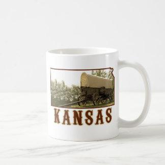 Kansas Covered Wagon Coffee Mug
