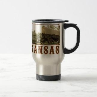 Kansas Covered Wagon Mug