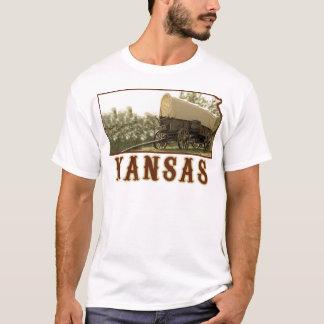 Kansas Covered Wagon T-Shirt