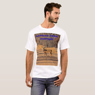 Kansas Deer Hunter Men's T-Shirt!!! T-Shirt