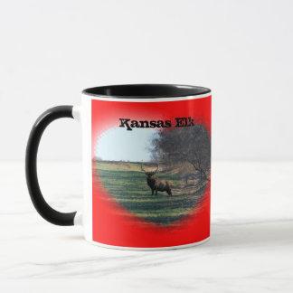 Kansas Elk Coffee Mug!!! Mug