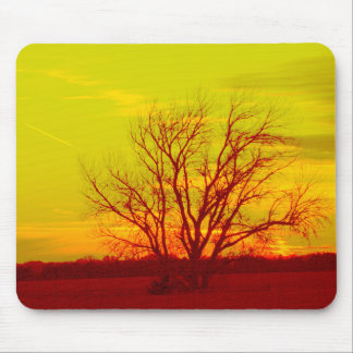 Kansas Enhanced Sunset Mouse Pad