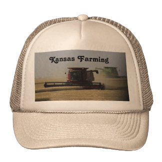 Kansas Farming Truckers Hat