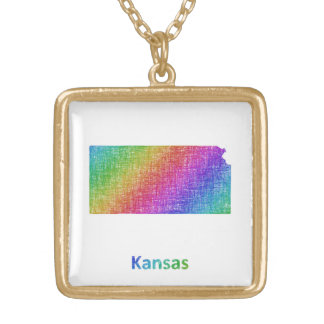 Kansas Gold Plated Necklace