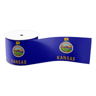 Kansas Grosgrain Ribbon