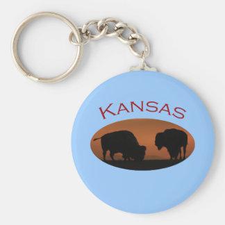 Kansas Key Ring