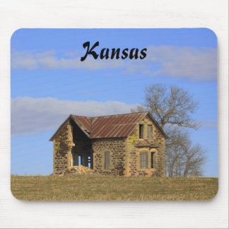 Kansas Limestone Country House Mouse Pad