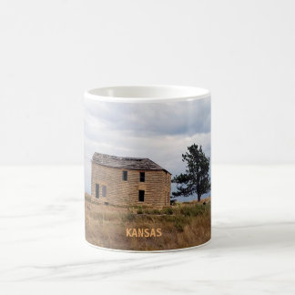 Kansas Limestone Farm House Mug