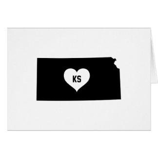 Kansas Love Card