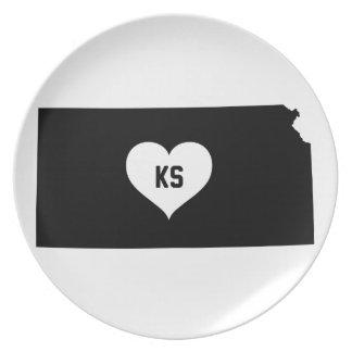 Kansas Love Plate
