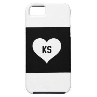 Kansas Love Tough iPhone 5 Case