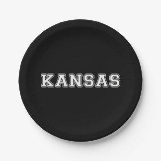 Kansas Paper Plate