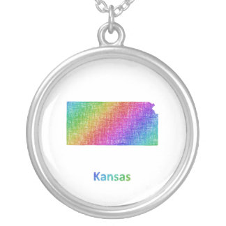 Kansas Silver Plated Necklace