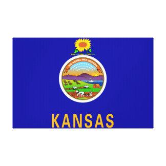 Kansas State Flag 2.png Canvas Prints