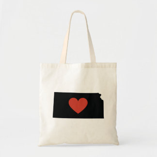 Kansas State Love Book Bag or Travel Tote