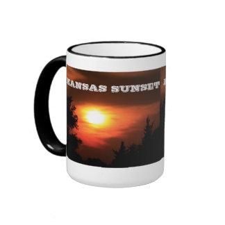 Kansas Sunset Coffee MUG