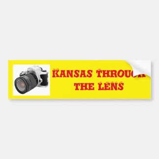 Kansas Through the Lens Bumper Sticker
