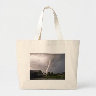 Kansas Tornado Large Tote Bag