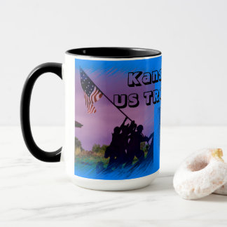 Kansas US TROOPS Coffee Mug