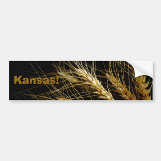 Kansas!  Wheat crop bumper sticker