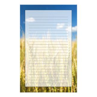 Kansas Wheat Customised Stationery