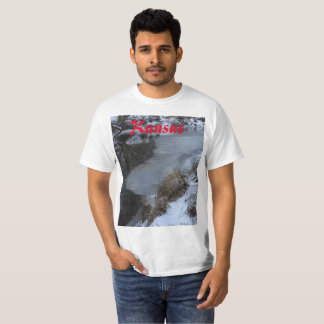 Kansas Winter Wonderland T-Shirt