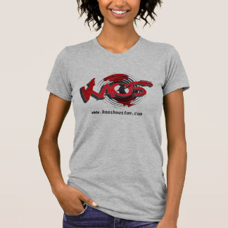 KAOS Band - ladies grey T Shirts
