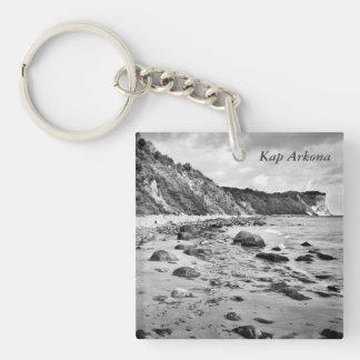 Kap Arkona, Rügen Single-Sided Square Acrylic Key Ring