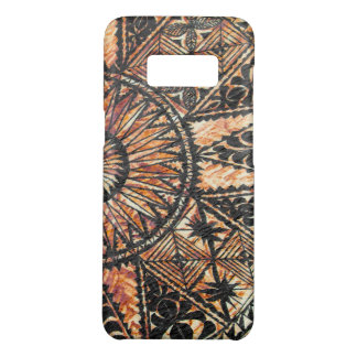 Kapa Primitive Hawaiian Tattoo Tapa Half Circle Case-Mate Samsung Galaxy S8 Case