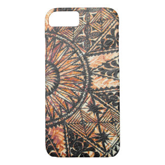 Kapa Primitive Hawaiian Tattoo Tapa Half Circle iPhone 8/7 Case