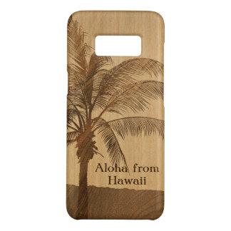 Kapaa Sunset Hawaiian Faux Koa Wood Case-Mate Samsung Galaxy S8 Case