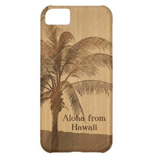 Kapaa Sunset Hawaiian Faux Koa Wood iPhone 5 Cases