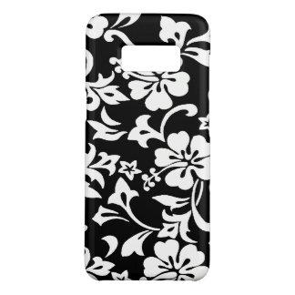 Kapalua Pareau Hawaiian Hibiscus Black Case-Mate Samsung Galaxy S8 Case