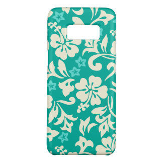 Kapalua Pareau Hawaiian Hibiscus Green Case-Mate Samsung Galaxy S8 Case