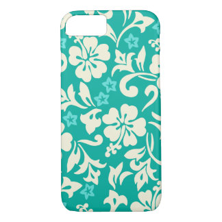 Kapalua Pareau Hawaiian Hibiscus Green iPhone 8/7 Case