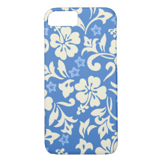 Kapalua Pareau Hawaiian Hibiscus Periwinkle iPhone 8/7 Case