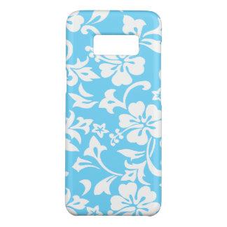 Kapalua Pareau Hawaiian Hibiscus Turq Case-Mate Samsung Galaxy S8 Case