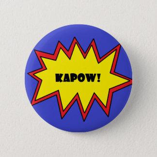 Kapow! 6 Cm Round Badge