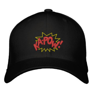 KAPOW EMBROIDERED HATS
