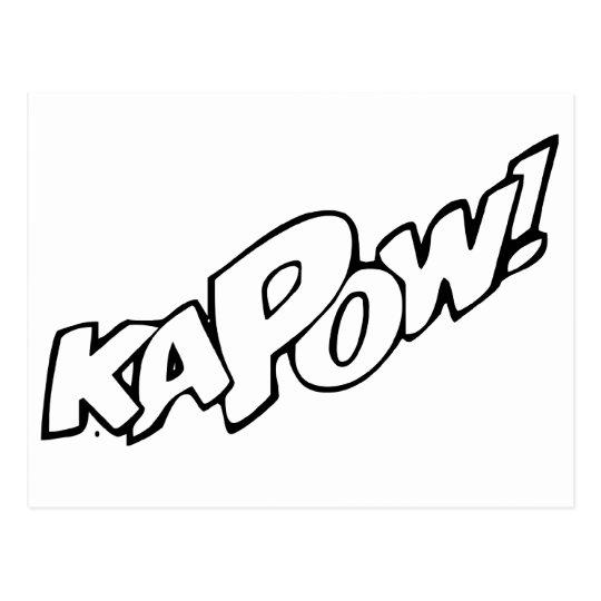Kapow Postcard