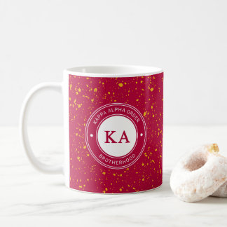 Kappa Alpha Order   Badge Coffee Mug